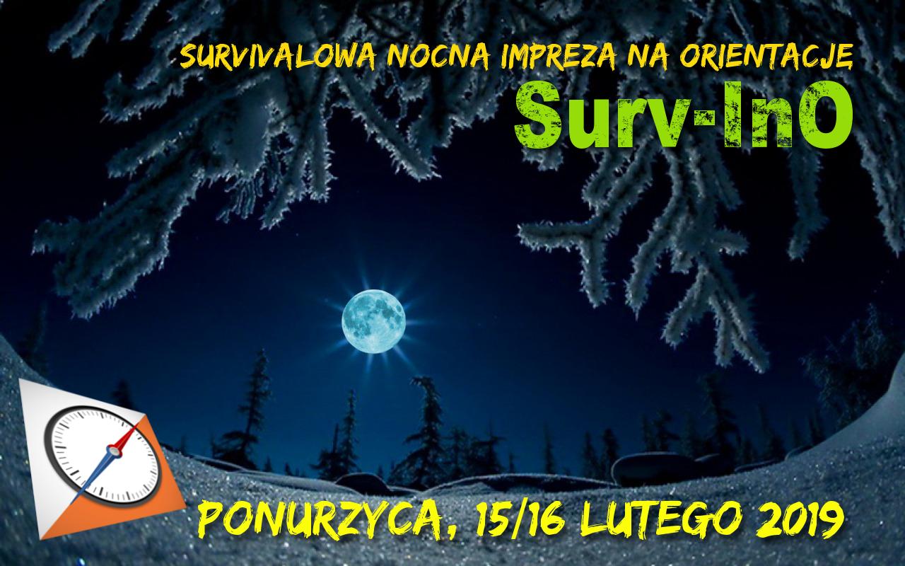 Surv-InO surwiwalowa nocna impreza na orientację