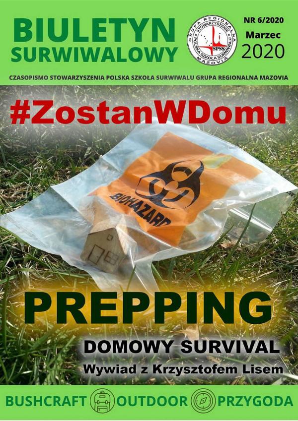 Biuletyn Surwiwalowy marzecz 2020 - koronawirus, prepping, Krzysztof Lis, Dariusz Lermer, Michał Miernik